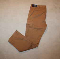 NEW Polo Ralph Lauren Stretch Slim Fit Ghurka Brown Cargo Pa