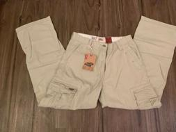 NEW With Tag - Mens Levi's Loose Straight Khaki Cargo Work W