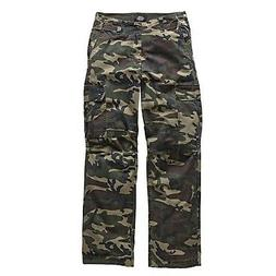 new york ripstop cargo trousers camouflage men