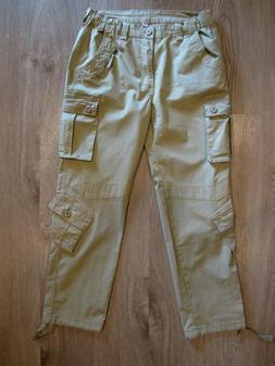 nwot mens tactical cargo pants khaki cotton