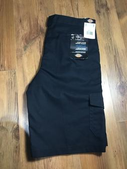 NWT Black Dickies Shorts Boys Cargo Pocket Shorts School Uni