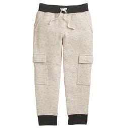 NWT Gymboree Boys Pull on Pants Cargo Joggers Sweatpants Alp