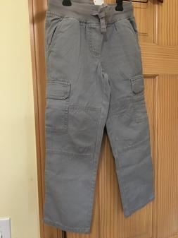 NWT Gymboree Boys Pull on Pants Gray Cargo Pants Outlet 2T,4