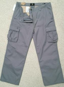 TIMBERLAND NWT CARGO PANTS 38 x 30 RELAXED FIT GRAY STYLE #4