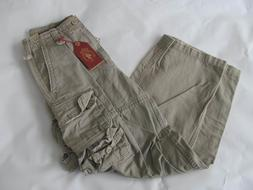 NWT Red Snap Cargo PANTS Boys Distressed  Size 12