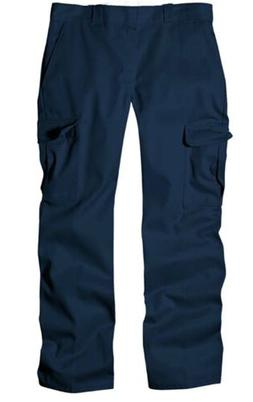 NWT Dickies Cargo Work Pants -Navy- Men's 52x32 Relaxed Fit