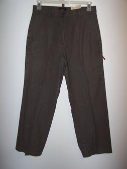 NWT ~ Dockers Charcoal Gray Relaxed Mobile Cargo Pants Size