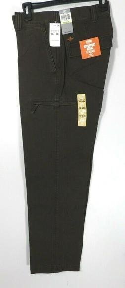 NWT Dockers D3 Mens Brown Classic Crossover Cargo Pants Size