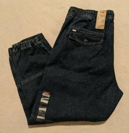 NWT Levis Utility Pants Essentials Tapered Cargo Joggers Blu