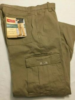nwt men s cargo relaxed fit khaki