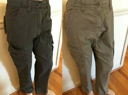 NWT MEN'S Wrangler Cargo Relaxed Fit Rip-Stop ABW OD BY TECH