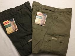 NWT MEN'S Wrangler Cargo Relaxed Fit Rip-Stop 70L3WNV 70L3WM
