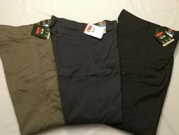 NWT MEN'S Wrangler Cargo Straight Fit Pant Nylon 4 way Flex