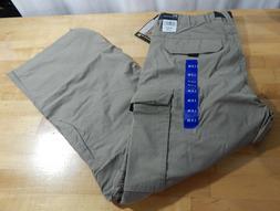 NWT Men's BC Clothing Convertible Cargo Hiking Pants/Shorts-