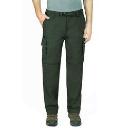 NWT BC Clothing Men's Convertible Pants Cargo Shorts Hiking
