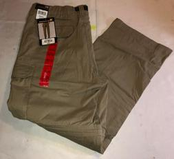 Nwt BC Clothing Men's Convertible Zip Off Cargo Pants Shorts