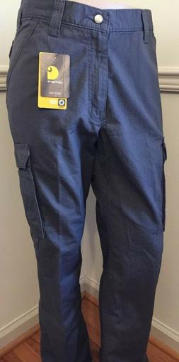 NWT Men's CARHARTT Relaxed Fit Tappen Cargo Rip-Stop Pant 10