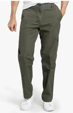 NWT MENS DOCKERS COMFORT CARGO PANTS GREEN 42 X 30 Style # 4
