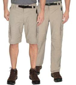 NWT BC Clothing Mens Convertible Stretch Cargo Hiking Pants