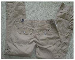NWT Unionbay Radley cargo khaki pants NWT SIZE 3