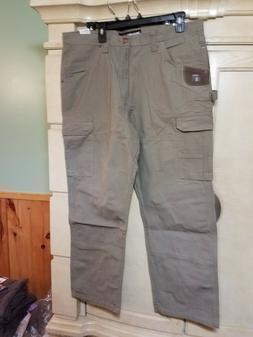 NWT WRANGLER Riggs Workwear TAN Ripstop Ranger Cargo Pants M