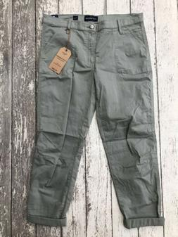 nwt the cargo green pants womens 10