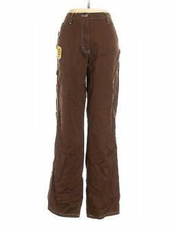 NWT Dickies Women Brown Cargo Pants 9