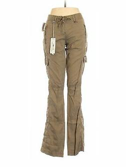 NWT Unionbay Women Brown Cargo Pants 9