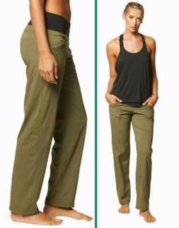 NWT prAna Women's Summit Pant Size XS Cargo Green Heather $8