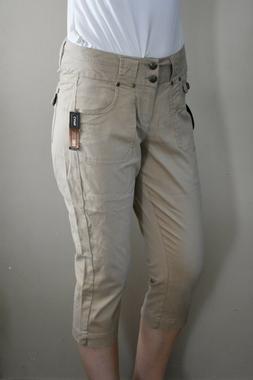 One 5 One Mid Rise Capri Sateen Cargo Pants SS440 Choose Siz