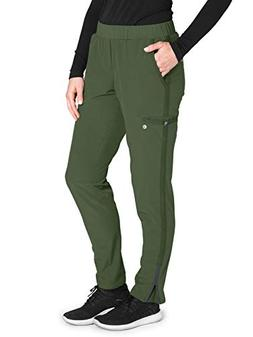 Barco One Wellness BWP505 Cargo Pant Green Space S Petite
