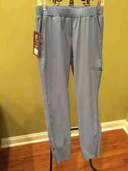 Barco One Women's CIEL BLUE Cargo Pants Scrubs Uniform BWP50