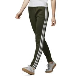 Adidas Originals Women's SST Track Pants Night Cargo Green D