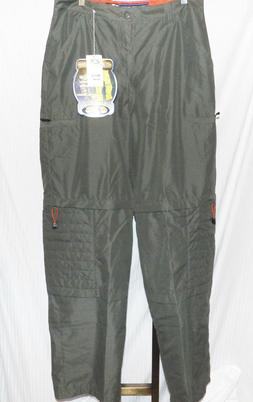 otb olive green cargo pants size 34