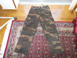 Carhartt pant cargo camo mud stone washed ripstop military c