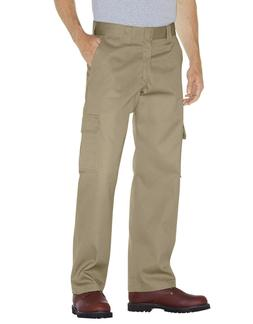 Dickies Pants: Men's Desert Sand 2112372 DS Relaxed Fit Carg