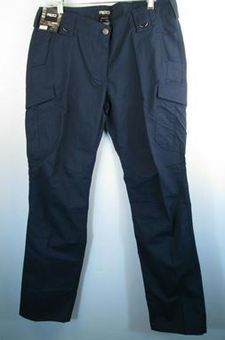 CQR Pants Tactical Cargo Lightweight Blue Womens 10 Long NWT