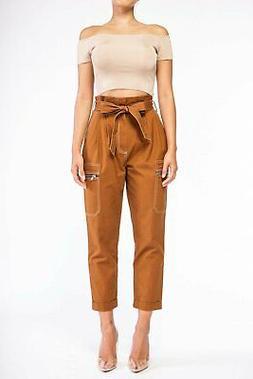 Paper Bag Cargo Pants