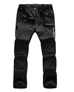 Jessie Kidden Men's Quick Dry Convertible Cargo Pant #9999,B