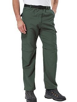 Jessie Kidden Men's Quick Dry Convertible Cargo Pant#ZB02,Ar