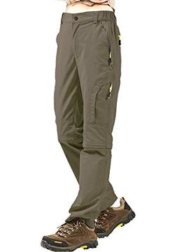 Women's Outdoor Quick Dry Convertible Lightweight Hiking Fis