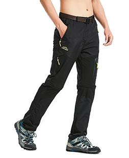 Rdruko Men's Outdoor Quick Dry Lightweight Convertible Hikin