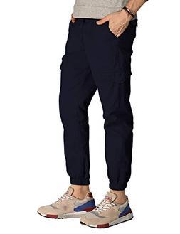 Match Men's Regular Fit Chino Jogger Cargo Pant