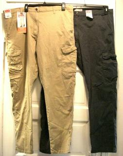 Wrangler Regular Taper Flex Cargo Pants Sits Lower on Waist