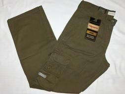 WRANGLER Relaxed Straight Cargo Pants Multi Stacked Cargos S