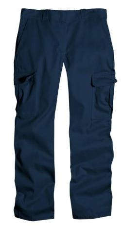 Dickies Men's Relaxed Straight Fit Cargo Work Pant, Dark Nav