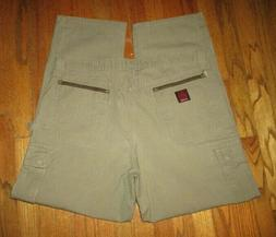 RIGGS Workwear 3W060BR by Wrangler Ripstop Green Cargo Pants