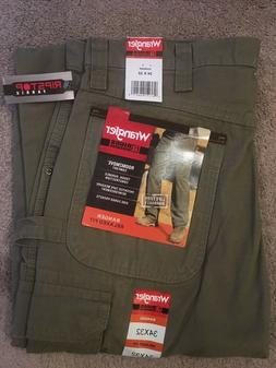 WRANGLER Riggs Workwear Ranger Relaxed Fit Cargo Pants 34 x