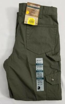 Carhartt Ripstop Cargo Flannel Lined Work Pants.  Mens Size