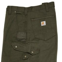 Carhartt Ripstop Relaxed Cargo Work Pants 46 Moss Double Fro